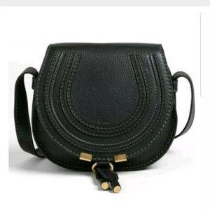 Chloe 'Mini Marcie' Leather Crossbody Shoulder Bag